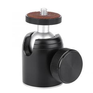 tripod ball head K26 360 degree Rotatable Mini Tripod Monopod Dual Opening Ball Head 1/4 Inch Mount for SLR Camera gimbal head