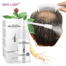 OMY LADY Anti perdita di capelli Spray per la crescita dei capelli olio essenziale liquido per uomo donna riparazione della rigenerazione dei capelli secchi, prodotti per la perdita dei capelli