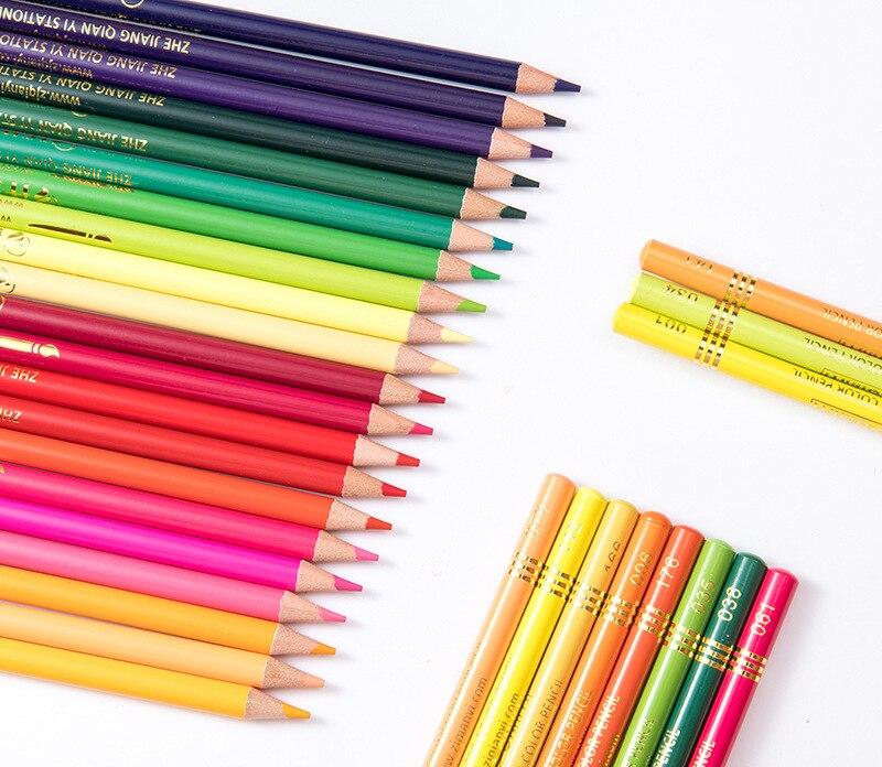 180 Color Water-soluble Color Lead / 180 Color Oily Color Pencil With Color Lead Bag Set / Art Supplies/ Colored Pencils
