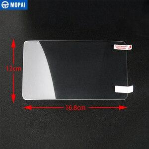 Image 5 - MOPAI Auto Aufkleber für Dodge Challenger 8,4 Zoll Auto GPS Navigation Display schutzfolie für Dodge Challenger Auto Zubehör