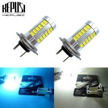 2x Led H7 Fog Light Bulb Auto Car Driving Light H7 LED Bulbs 12V for Kia Forte 2014-2015 Optima 2011-2015 RIO Sedan 2012-2015