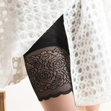 High Waist Lace Safety Short Pants Breathable Slim Underwear Knickers Sexy Shorts Under Skirt Casual Summer Panties Boyshort