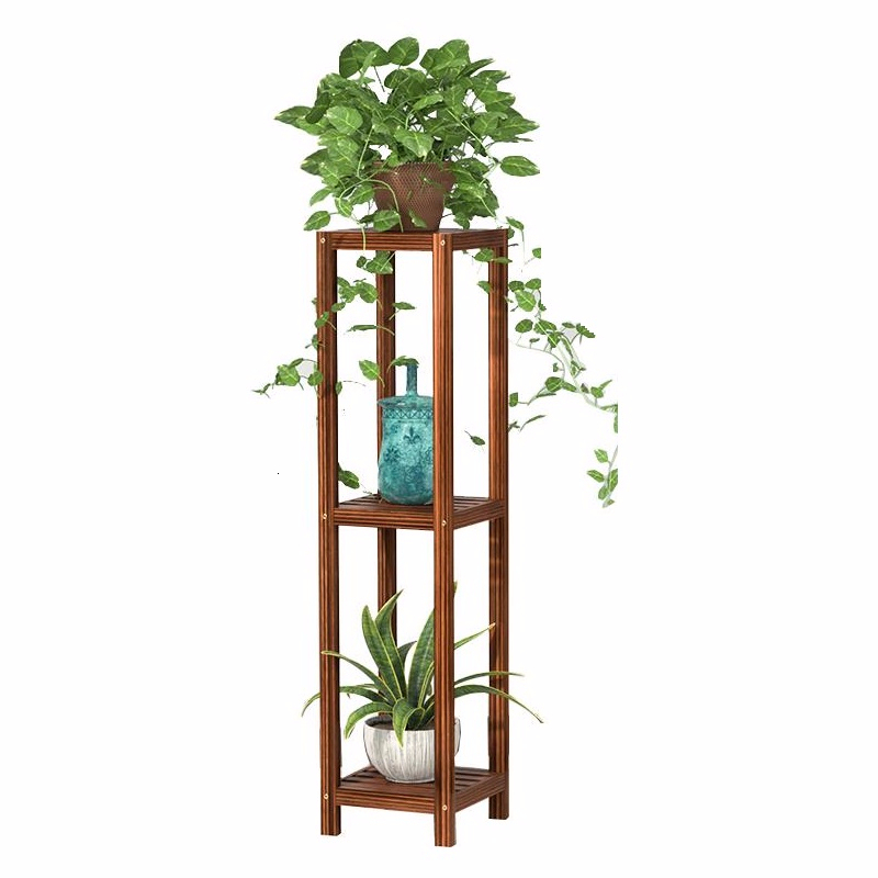 Ladder Garden Shelves Wood Saksi Standi Rak Bunga Balkon For Plant Indoor Stojak Na Kwiaty Balcony Shelf Dekoration Flower Stand