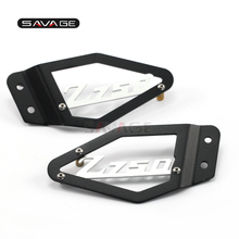 Front Foot Peg Heel Plates Guard Protector For KAWASAKI Z750 Z750R Z 750/750R 2007 2012 2011 12 Motorcycle Accessories Aluminum