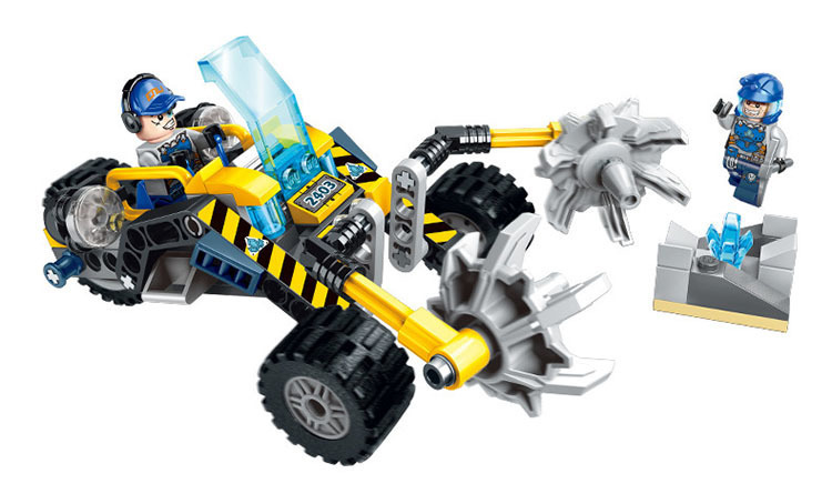 Building Blocks Construction Toys Technic Duplo Brinquedos loz E2403 Models Building Kits Blocks Boy Toys For Chlidren Habbits