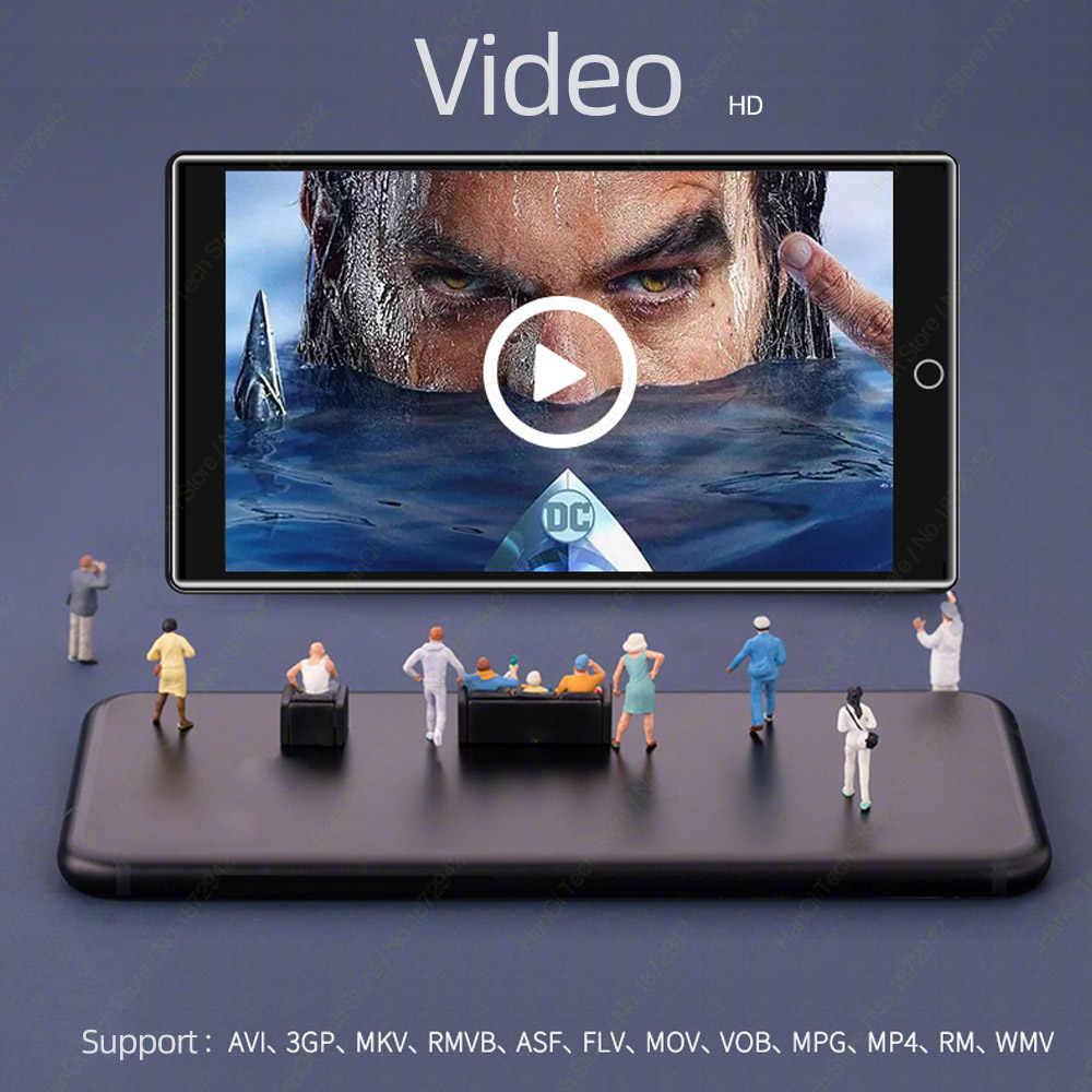 RUIZU H1 フルタッチスクリーン MP3 プレーヤー Bluetooth 8 ギガバイトの音楽プレーヤー内蔵スピーカーサポート FM ラジオ録音ビデオ電子書籍