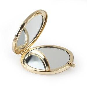 Image 5 - 20pcs Personalizzato Battesimo Favore Specchio Della Tasca Oro Specchio Compatto Prima Comunione Souvenir Battesimo Battesimo Regalo Per Gli Ospiti