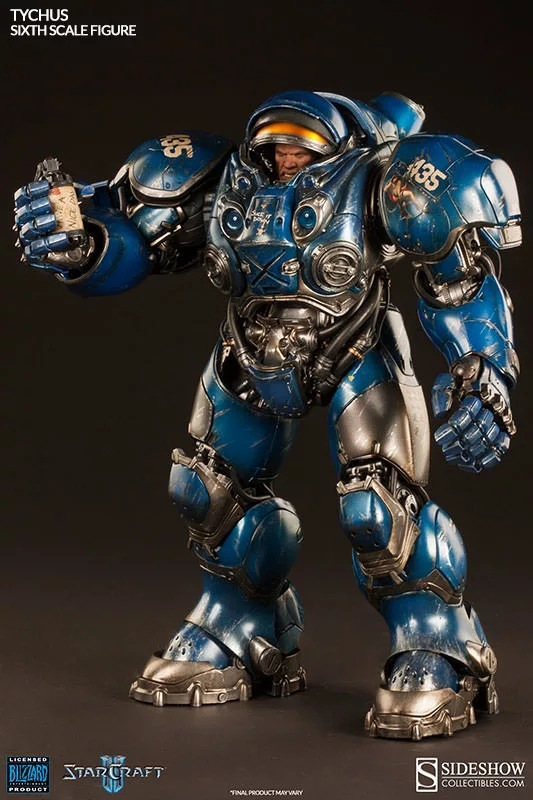 StarCraft 2dc Storm Hero Terran Marines Thai Keith Finley Joints Super Cute Cartoon Garage Kit