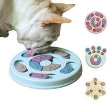 New Pet Educational Toys Increase IQ Interactive Puppies Dog Food Dispenser Pet Dog Training Game Puppies Medium Dog Bowl Feeder new dog snack catapult launcher dog cat treat launcher snack food feeder catapult pet interactive training toys