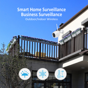 Image 2 - Mini Outdoor IP Camera Wi Fi 1080P HD Metal Shell CCTV Wireless Security Video Surveillance Bullet Camera IR Light Night