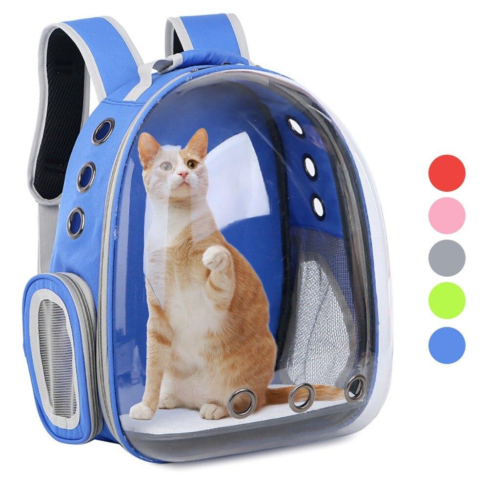 Сумка-переноска для кошек, Воздухопроницаемый рюкзак в виде капсулы для маленьких собак и кошек, для путешествий