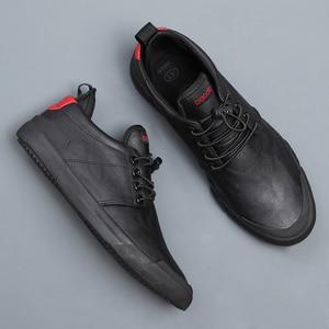Image 2 - Nam Mới Hợp Thời Trang Casual Giày Loafer Phong Cách Anh Quốc Nam Thiết Kế Giày Cho Nam Thoáng Khí Thun Da Pu Giày Sneaker bằng Phẳng