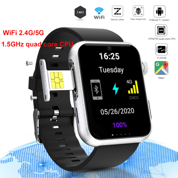 цена на 4G Android  GPS Smartwatch 1.78inch 1.5GHz MTK6739 Smart Watch Wifi 2G/5G SIM Phone Bluetooth Camera Watch for Android IOS