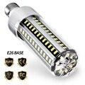 Высокая мощность светодиодный светильник E27 220 В светодиодный светильник 25 Вт 35 Вт 50 Вт Свеча лампа 110 в E26 светодиодный алюминиевый вентилят...