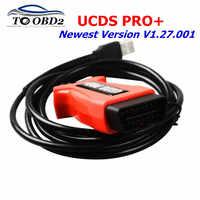 Profesional para FOCOM UCDS PRO + V1.27.001 más nuevo con 35 fichas licencia completa UCDS pro UCDS para Ford, activación completa, Envío Gratis