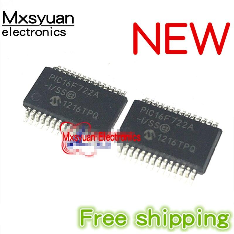 10 ~ 20 штук PIC16F722A-I/SS PIC16F722A-I SSOP28 Новинка & Оригинал 28-Pin Flash микроконтроллеры с нановатта XLP Технология IC новый
