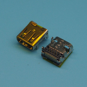 Connecteur HDMI TYPE D 19 broches, 30 pièces/lot, prise femelle, MICRO HDMI, SMT & DIP