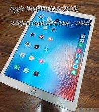 Original refurbish apple ipad pro 2015 a1584 12.9 polegadas versão wifi preto branco sobre 80% novo desbloquear