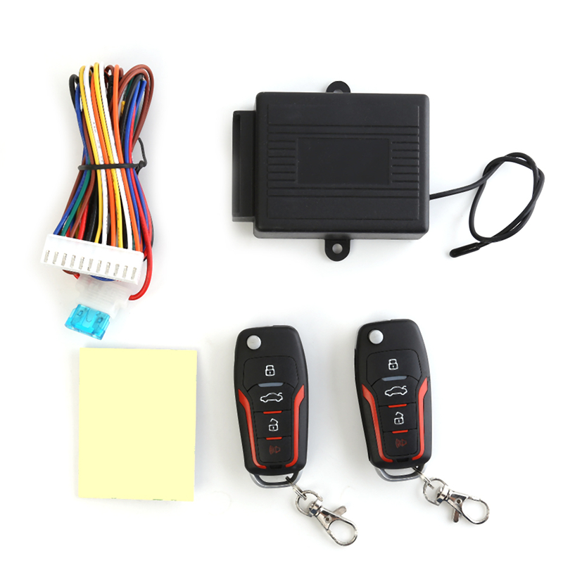 Universal 12V Car Remote Central Kit Door Lock Locking Auto Vehicle Keyless Entry Alarm System Central Locking Kit