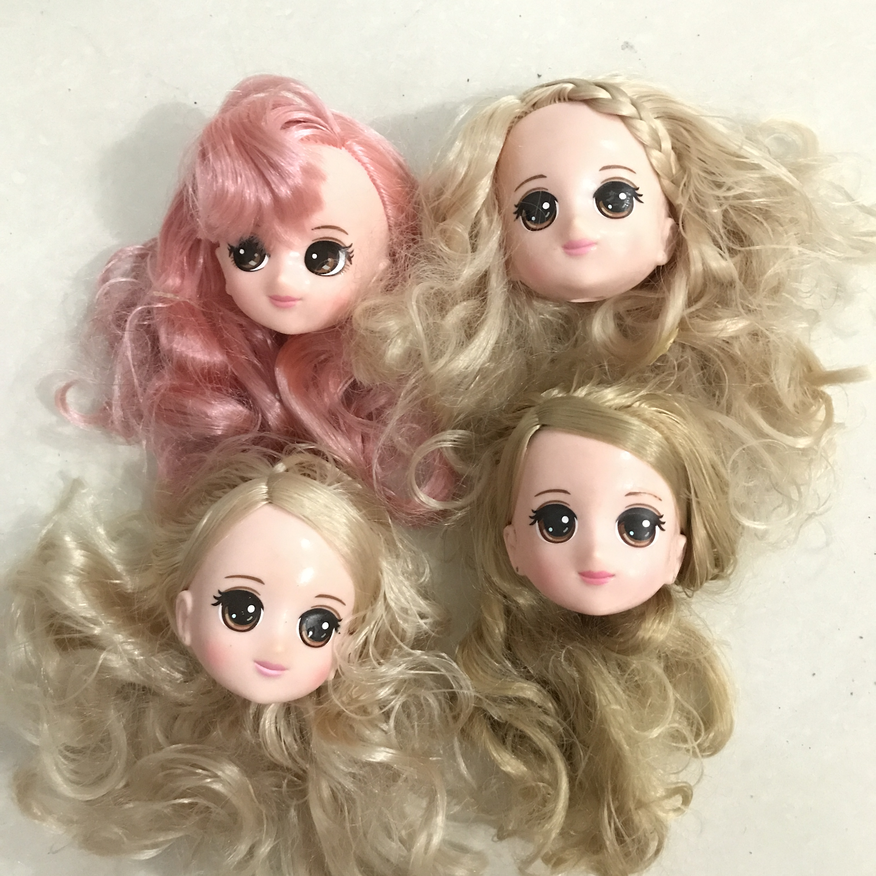 Original Toys Lovely Simba Rincess Doll Head Barbies Doll Accessories