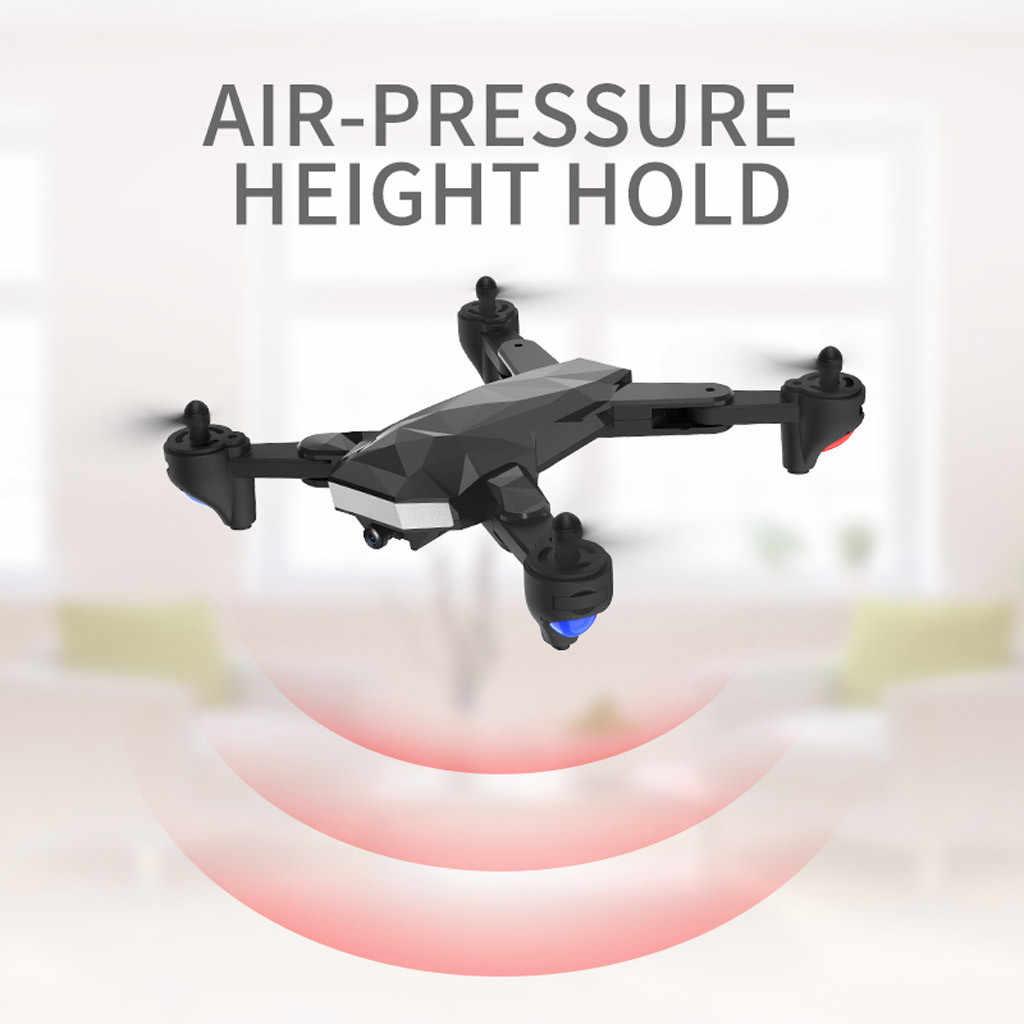 R13 Drone x pro 2.4G Selfie WIFI FPV avec caméra 4K HD quadrirotor sans brosse pliable 20 minutes de temps de vol RC tenir FPV Drone