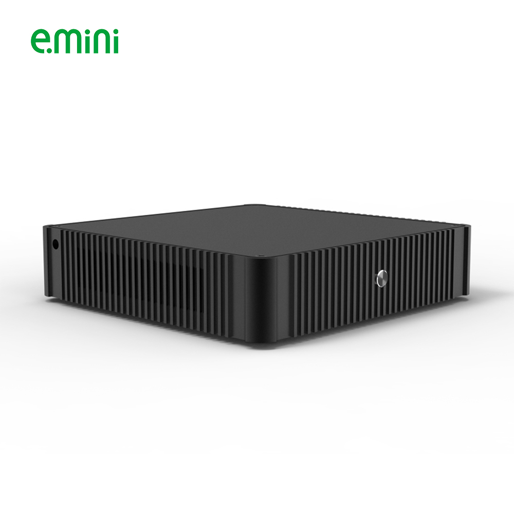 New Arrival High Quality Fanless Mini PC Intel Quad Core Processor Mini Industrial PC With VGA Windows Linux Android