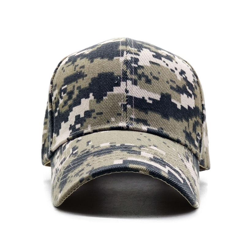 ACU Digital Men Baseball Caps Army Tactical Camouflage Cap Outdoor Jungle Hunting Snapback Hat For Women Bone Dad Hat