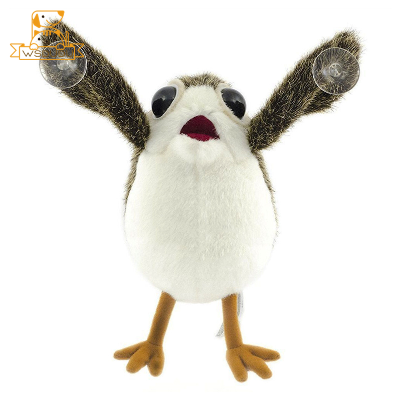 Cute Porg Birds Soft Movie War Last Jedi Plush Stuffed Toys Cartoon Animals Anime Porglet Figure Dolls For Children Decor Gifts