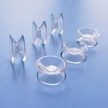 Новые 10 шт двухсторонние присоски-присоски для стекла, пластиковые присоски ПВХ пластиковые маленькие присоски без следа
