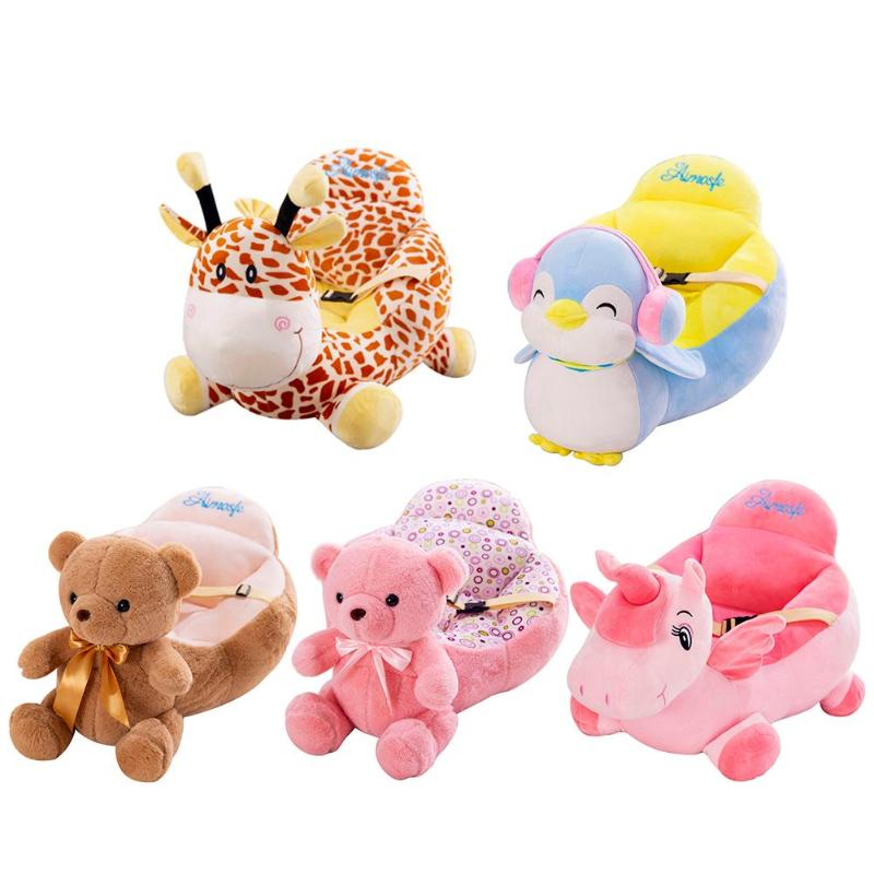 Baby Sofa Cover Learn To Sit Seat Feeding Chair Cover Washable Baby Sofa Skin For Infant Kid Sofa Cover Soft Seat Case No Cotton