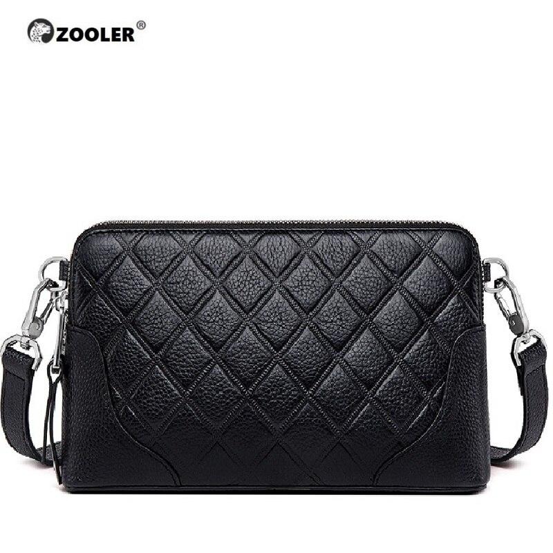 ZOOLER Original Shoulder Bags Type Women Famous Brands 2019 Real Leather Bag Woman Messenger Bags Purses Bolsa Feminina #LT236