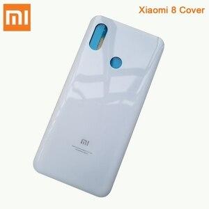 Image 3 - Xiaomi Mi המקורי זכוכית סוללה אחורי מקרה עבור Xiaomi 8 MI8 MI 8 פרו M8 8SE Mi8 פרו טלפון סוללה חזרה כיסוי Backshell + כלי