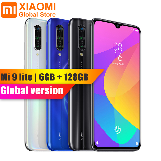 Global Version Xiaomi Mi 9 Lite 6GB RAM 128GB ROM 6.39 inch NFC Mobile Phone Snapdragon 710 Fast Quick Charge 4030mAh SmartPhone
