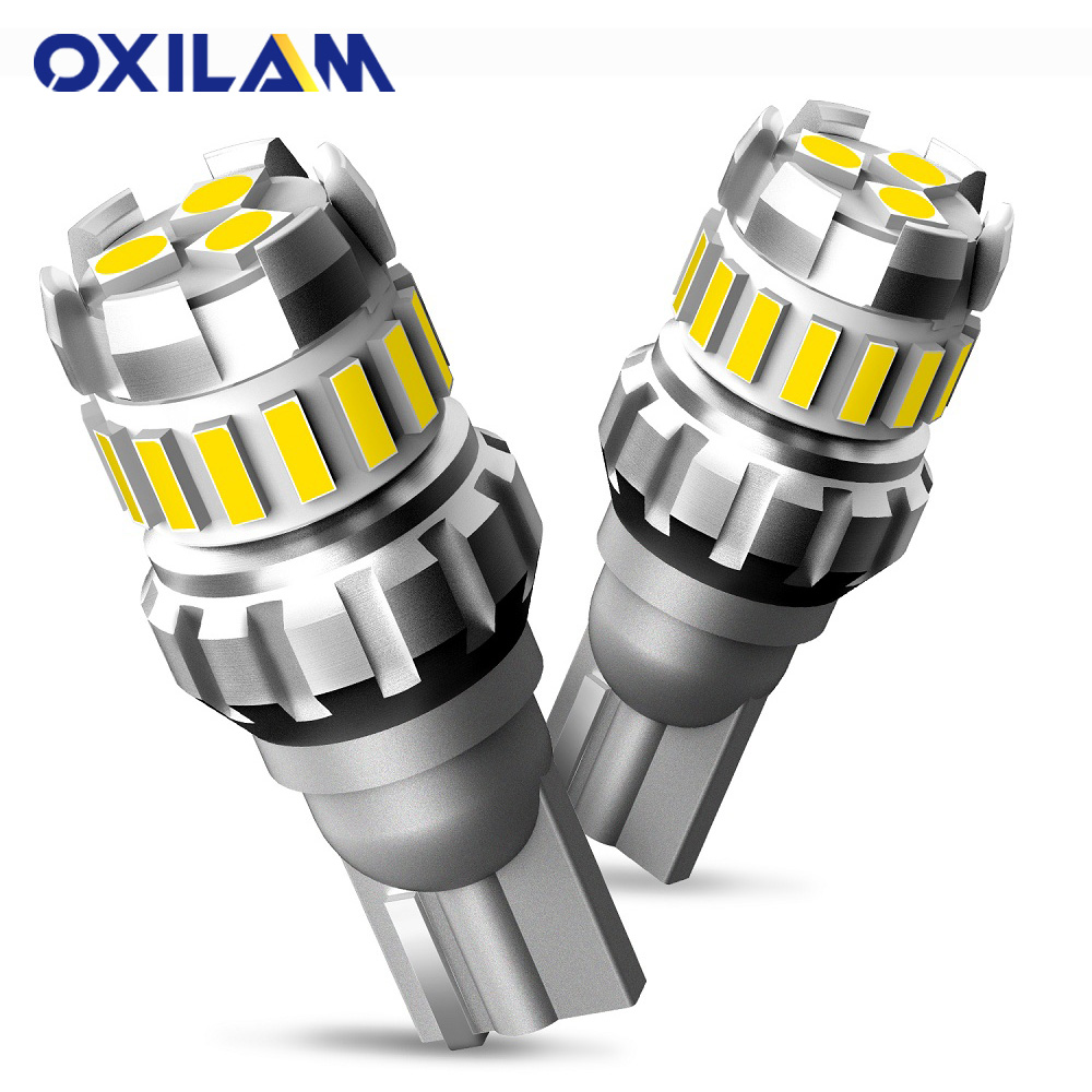OXILAM 2x T15 W16W LED Canbus 1200LM Super brillante luz de marcha atrás para Toyota Kia Audi BMW Alfa Romeo Lada Reno lámpara trasera LED Auto