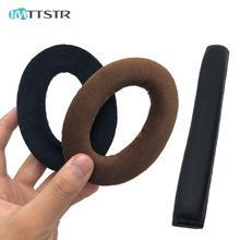 IMTTSTR Headband Earpads for Sennheiser PC350 HD380 PC 350 HD 380 Pro Earphones Sleeve Cushion Bumper Cover Cups Replacement