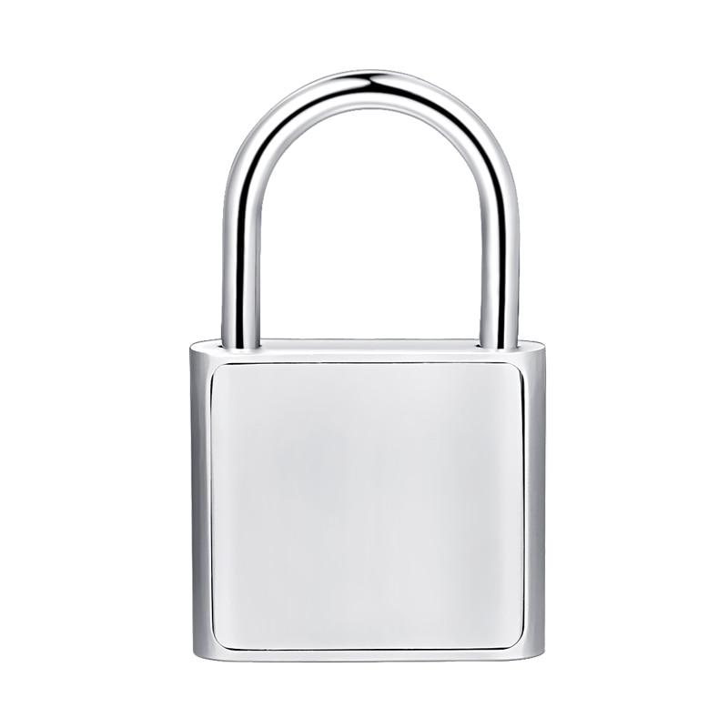 Top SaleDoor-Lock Fingerprint Metal Silver Rechargeable Keyless Quick USB Black Self-Developing-Chip