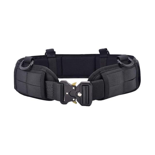 Cintur n t ctico de camuflaje para exteriores cintur n t ctico de nailon Cobra multifuncional