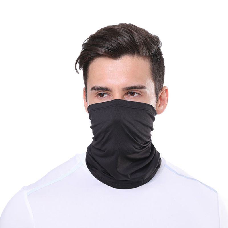 1pc Cycling Hiking Scarves Outdoor Sports Multifunctional Neck Mask Windproof Dustproof Rashguard Breathable Seamless Bandanas 2