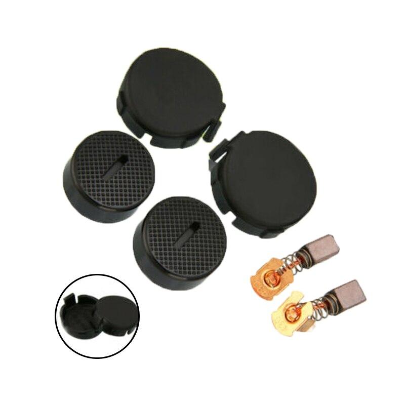 1Pair CB430 Motor Carbon Brushes Cap Cover For Makita BGA450 GA400 DGA452 BGA402
