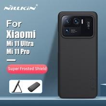 For Xiaomi Mi 11 Ultra Case For Mi 11 Ultra NILLKIN Frosted Shield PC Hard Back Cover Protective Case For Xiaomi Mi 11 Pro