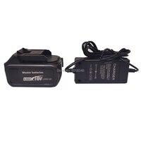 Bloco compatível da bateria 18 v 4000 mah com um carregador para a ferramenta sem fio recarregável|Chaves elétricas| |  -