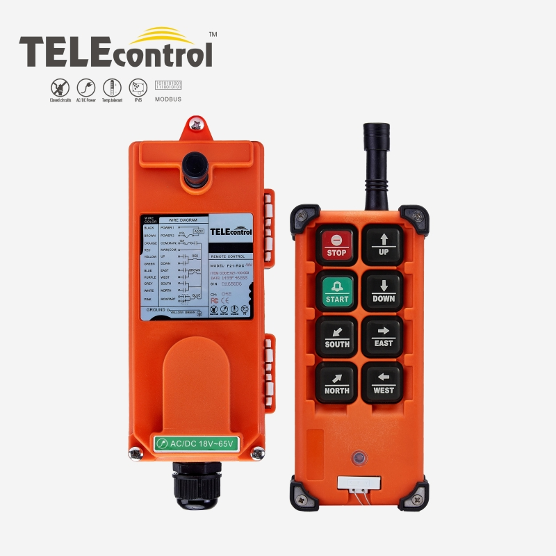 TELEcontrol UTING F21 E1B Industrial  radio remote control for crane hoist-in Remote Controls from Consumer Electronics