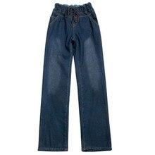 Джинсы для женщин в стиле бойфренд с эластичной резинкой на талии повседневные свободные джинсовые широкие брюки женские весенне-осенние брюки Pantalon Jean Mujer