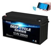 Литий ионная батарея lifepo4 12v 200ah литиевая фосфата железа