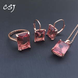 CSJ Zultanite Jewelry Sets 925