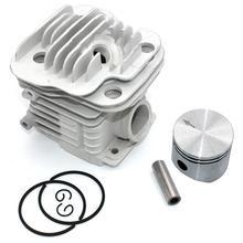 Поршневой комплект 45 мм для Oleo-Mac 952 952 Master Efco 152 бензопила PN 50082012E 50082012 50070047a 50082012B