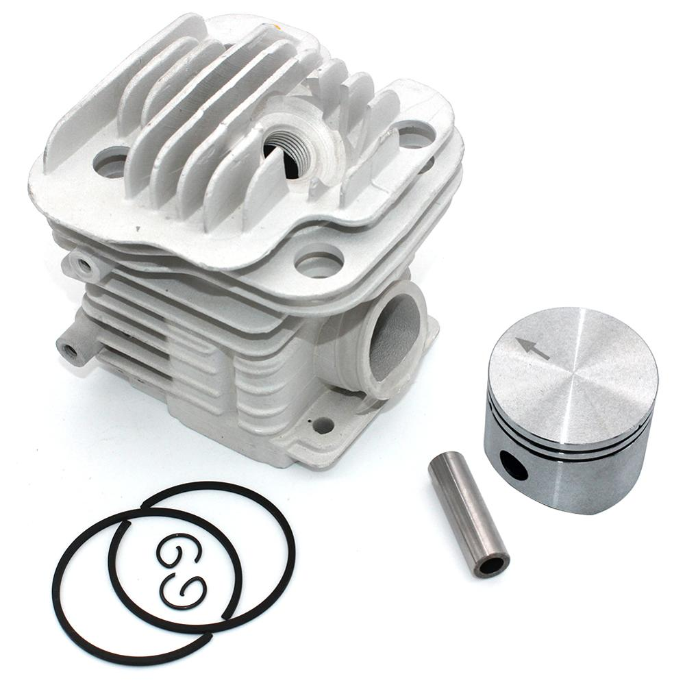 Cylinder Piston Kit 45mm For Oleo-Mac 952 952 Master Efco 152 Chainsaw PN 50082012E 50082012 50070047a 50082012B