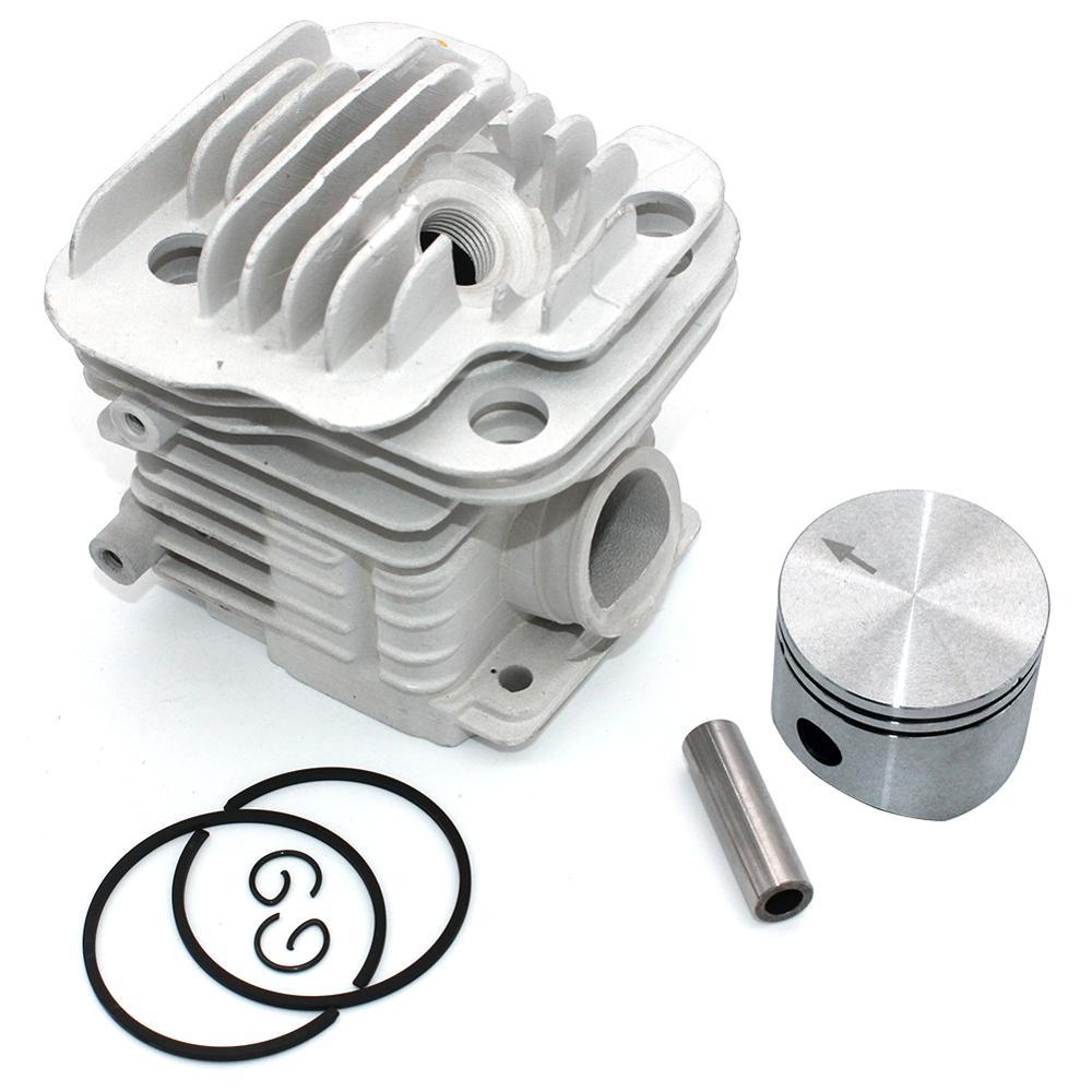 Cylinder Piston Kit 45mm for Oleo-Mac 952 952 Master Efco 152 Chainsaw PN 50082012E 50082012 50070047a 50082012B