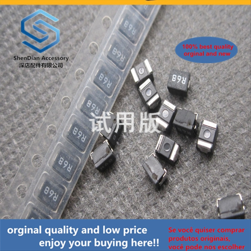 50pcs 100% Orginal New Best Quality SMD Wire Wound Inductor 1210 0.68UH R68J 5% 450mA High Frequency ELJNAR68KFB