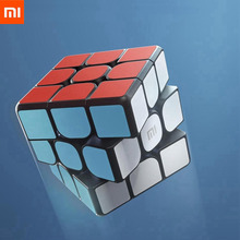 Original XIAOMI Bluetooth Magic Cube Smart Gateway Linkage 3x3x3 Square Magnetic Cube Puzzle Science Education Toy Gift For Boys